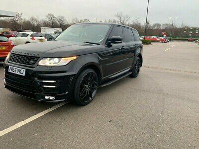 £5555 • Buy 2016 Land Rover Rang Rover Sport SDV6 DAMAGED FULLY REPAIRED CAT S