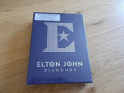 £29.99 • Buy Elton John Diamonds Limited Edition Collector's Box 3CD & Book Brand New, Sealed