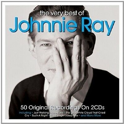 £4.99 • Buy Johnnie Ray Very Best Of 2-CD NEW SEALED 2016 Just Walking In The Rain/Cry+