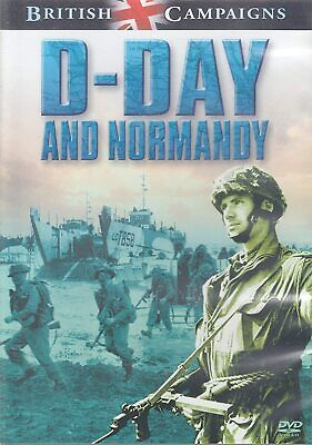 £4.47 • Buy DVD D-DAY AND NORMANDY - BRITISH CAMPAIGNS * War History Film * NEW SEALED *
