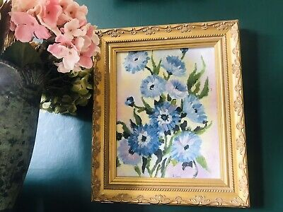 £18 • Buy Vintage Antique Rococo French Style Ornate Gold Gilt Frame Oil Painting