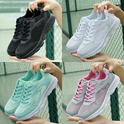 £16.99 • Buy Womens Running Trainers Shoes Ladies Lightweight Arch Support Tennis Gym Sneaker