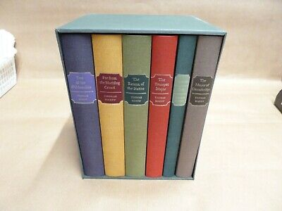£22 • Buy Thomas Hardy Folio Society 6 Books Including Far From The Madding Crowd,