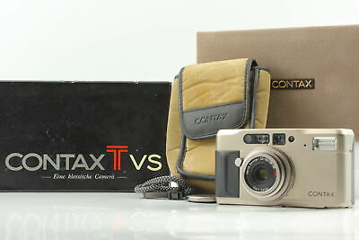 $ CDN435.64 • Buy [ BOXED EXC+++++ W/ Case ] Contax TVS Point & Shoot 35mm Film Camera From JAPAN