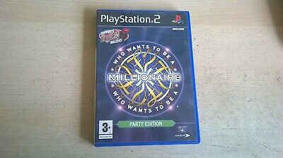 £5.95 • Buy WHO WANTS TO BE A MILLIONAIRE PARTY EDITION - BUZZ BUZZERS - PS2 GAME COMPLETE B
