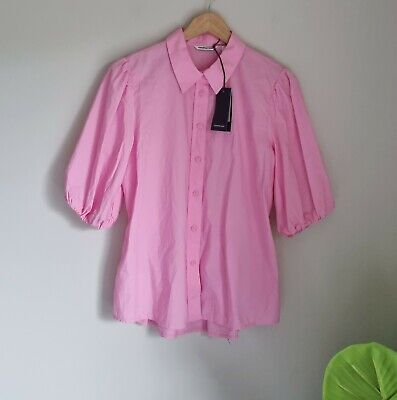 AU49.99 • Buy Country Road Elastic Back Shirt Size 10, Small, Candy Pink BNWT RRP $139