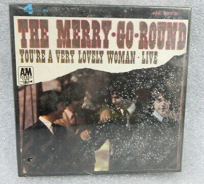 $29.99 • Buy The Merry Go Round Youre A Very Lovely Woman Live A&M 4 Track 7.5 Tape New 1967