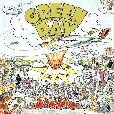 £1.29 • Buy Green Day Dookie Rock Music Album Cover Iron On T-Shirt Transfer