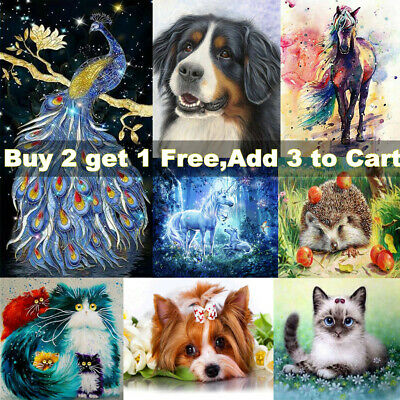 £6.30 • Buy 5D Diamond Painting Embroidery Cross Craft Stitch Pictures Arts Kit Mural Decor