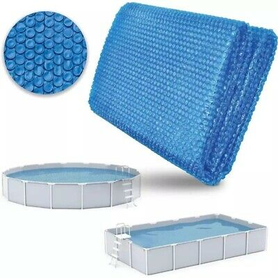 £26.60 • Buy Above Ground Swimming Pool Solar Blanket Cover Heat Insulation Bubble Protector