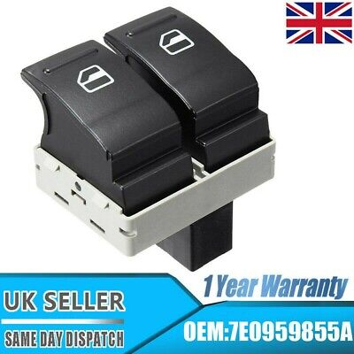 £5.99 • Buy Electric Window Double Switch Driver Side Fit VW Transporter T5 T6 Caravelle UK