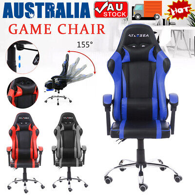 AU85 • Buy Adjustable Gaming Chair Office Computer Executive Chairs Seating Racer AU STOCK