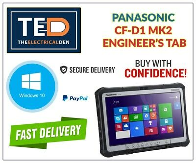 £159.99 • Buy MK2 PANASONIC TOUGHBOOK CF-D1 13.3  TABLET 4GB 250GB WIN 10 Next Day Delivery
