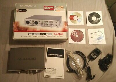 $96.64 • Buy M-audio Firewire 410 - Recording Interface - Boxed With Software Discs