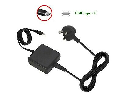 £13.99 • Buy Compatible For Asus Transformer 3 Pro T303UA USB-C 45W Laptop AC Adapter Charger