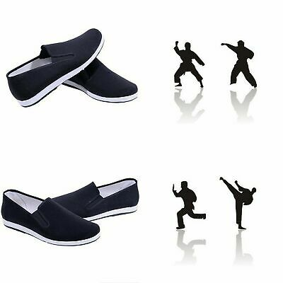£11.85 • Buy Chinese Kung Fu Non Slip Work Cloth Shoes Tai Chi Men Breathable Rubber Sole