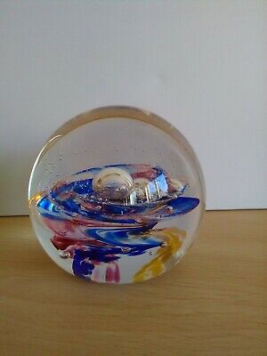 £4.99 • Buy Selkirk Scotland Paperweight Signed & Date