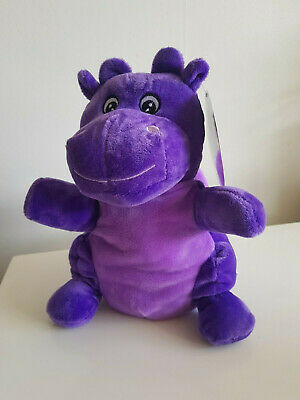 £0.99 • Buy Miri Moo Purple Dragon Soft Hand Puppet Brand New With Tags Teddy Toys
