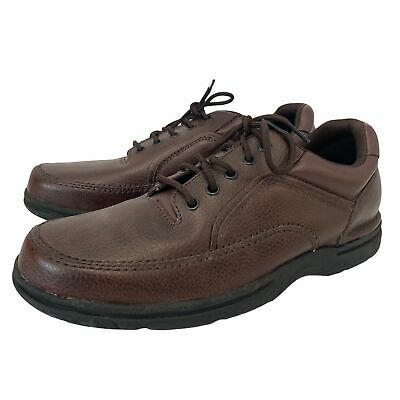 £4.99 • Buy Mens ROCKPORT Brown Genuine Leather Mens Lace Up Shoes Size UK10.5 - S53