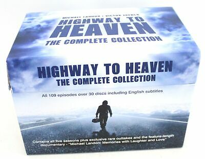 £30.15 • Buy HIGHWAY TO HEAVEN 109 Episode COMPLETE COLLECTION 30 Disc DVD Box Set - E29
