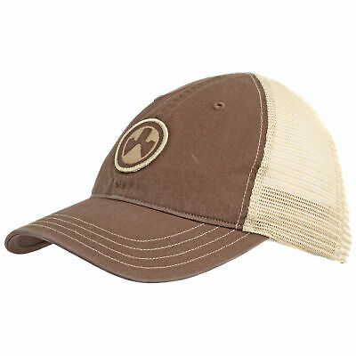 $25.99 • Buy Magpul Industries MAG1105-212 Icon Patch Washed Brown/Khaki Trucker Hat OSFM