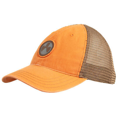 $25.99 • Buy Magpul Icon Patch Garment Washed Trucker Hat Orange/Brown One Size Fits Most