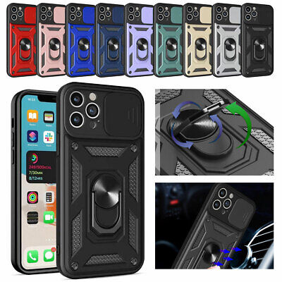 AU10.46 • Buy For IPhone 12 Pro XR XS 6s 7 8 Plus SE2 Hybrid Armor Case With Ring Stand Cover