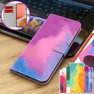 AU12.99 • Buy For OPPO A74 A94 A54 A15 A53 A52 A72 Ax5s Find X3 Wallet Case Leather Flip Cover
