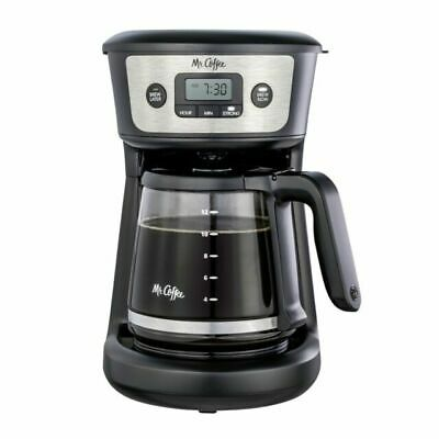 $29.99 • Buy Mr. Coffee 12cup Programmable Coffeemaker Strong Brew Selector Stainless Steel