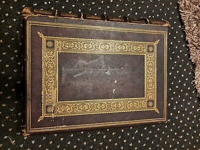 £150 • Buy Antique Large Family Illustrated Bible From 1700's 18th Century, Possibly...
