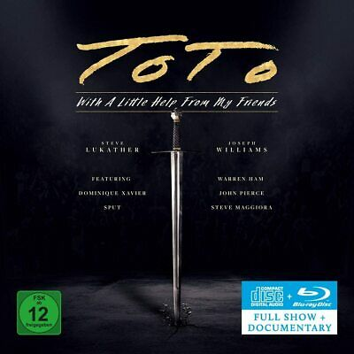 £15.95 • Buy TOTO WITH A LITTLE HELP FROM MY FRIENDS CD + BLU-RAY (Released June 25th 2021)