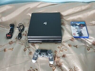 AU295.18 • Buy -uk Only- PlayStation 4 Pro 1TB PS4 Console Bundle Controller CUH-7216B Quieter