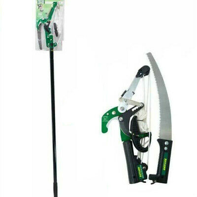 £17.99 • Buy Ratchet Tree Lopper & Telescopic Saw Pruning Cutting Branch Telescopic Tool New