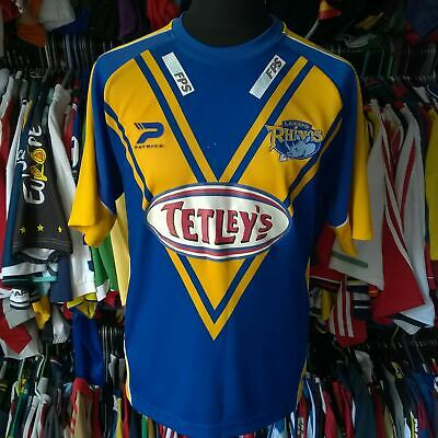 £21.99 • Buy Leeds Rhinos 2006 Home League Rugby Shirt Patrick Jersey Size Adult L