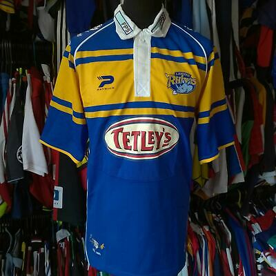 £24.99 • Buy Leeds Rhinos 2005 Home League Rugby Shirt Patrick Jersey Size Adult L
