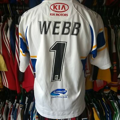 £24.99 • Buy Leeds Rhinos 2007 Home League Rugby Shirt #1 Webb Patrick Jersey Size Adult S