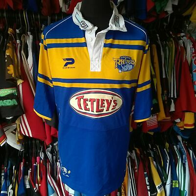 £21.99 • Buy Leeds Rhinos 2005 Home League Rugby Shirt Patrick Jersey Size Adult 2xl