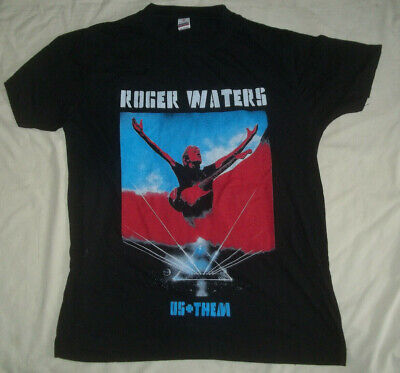 £6.99 • Buy Roger Waters / Us Them  2018 Tour T.shirt   L  Never Warn   Black
