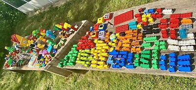 £39 • Buy DUPLO Large Bundle With Base Board Vehicles Animals Christmas Cowboy Stable Lot