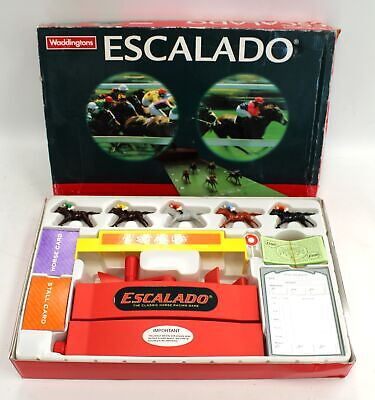 £10.51 • Buy Vintage WADDINGTONS ESCALADO Classic Horse Racing Game Ages 8+ Players 2-6 - BB4