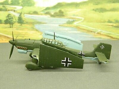 $17.95 • Buy 1/72 BUILT Model Aircraft WW2 GERMAN STUKA DIVE BOMBER With FOLDED WINGS