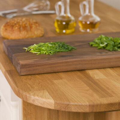 £124.99 • Buy Solid Oak Wooden Kitchen Worktops, 22mm Thick, 2M 620 22mm Wood Work Surfaces