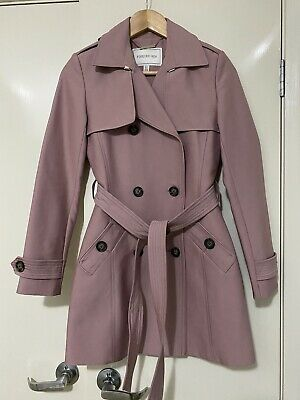 AU80 • Buy Forever New Size 6 Trench Coat Pink