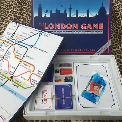 £28.63 • Buy The London Game Vintage Board Game~ Underground Tube Map ~ For Adults & Children