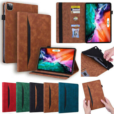 AU24.49 • Buy For IPad 5/6/7/8/9th Pro 11 12.9  Air 1 2 3 4 Mini Slim Leather Smart Case Cover