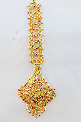$12.50 • Buy Indian Ethnic Party Wear Bollywood Gold Plated Pearl Mang Tikka Fashion Jewelry