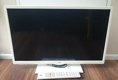 £95 • Buy JVC 24  LED Smart/DVD ( LT-24C656) TV White With Stand And Remote. Netflix