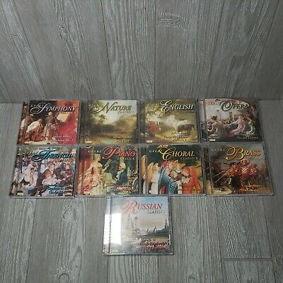 $ CDN1.23 • Buy Lot Of 9 Great Classics Opera Brass Choral Piano French Russian Music CDs