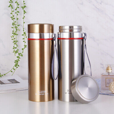 £14.99 • Buy 700ml Stainless Steel Vacuum Cup Thermos Flask Travel Water Bottle Cup Mug H
