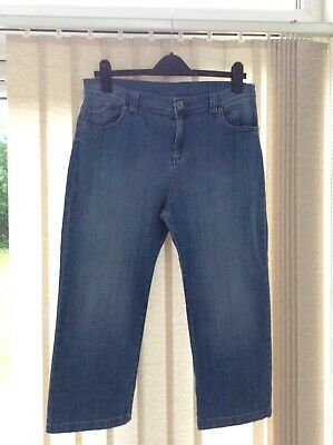 £1.70 • Buy Marks And Spencer Ladies Cropped Jeans Size 14